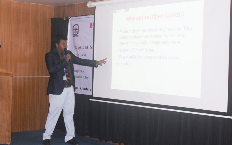 The keynote speaker of the seminar was Dr Gazi Mohammad Sharif, Assistant Professor (Visiting), Department of Computer Science and Engineering (CSE).