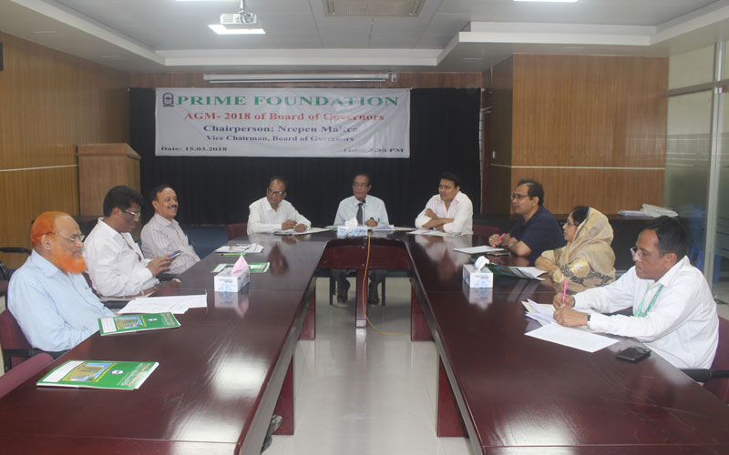 Annual General Meeting of Board of Governors of Prime Foundation