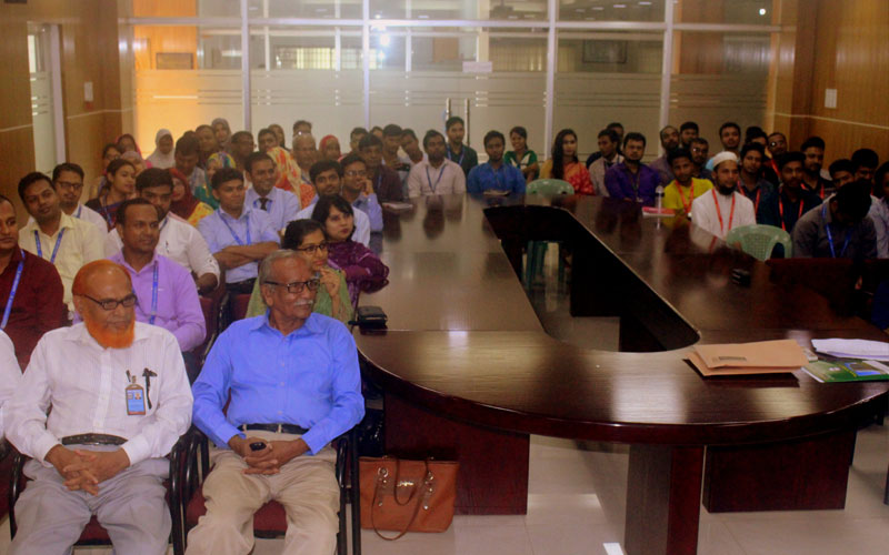 <p>A view of the audience during the seminar