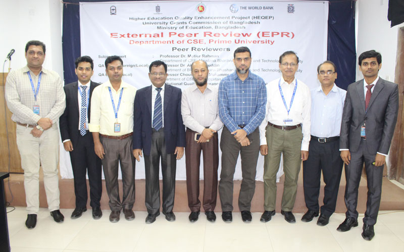 <p>EPR team is with the Directors, IQAC, SAC, Department of CSE</p>