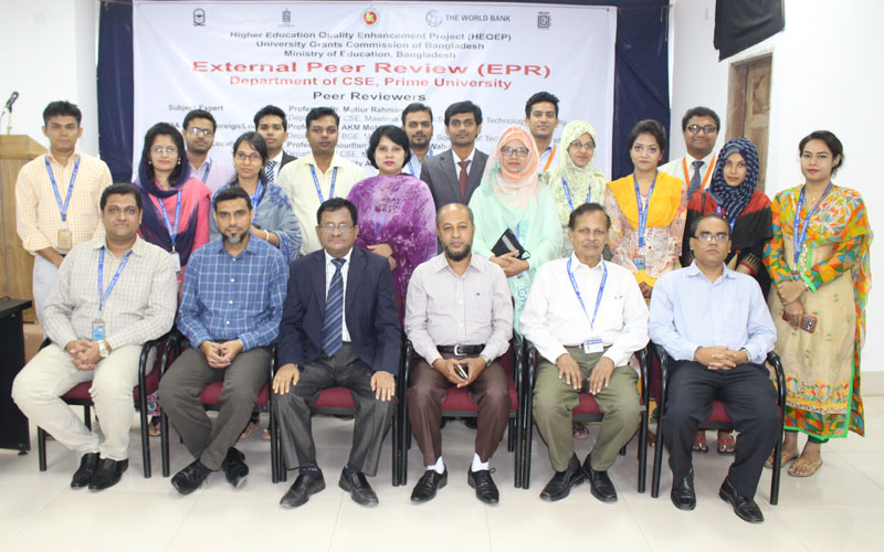 <p>EPR team is with the Directors, IQAC, SAC and Faculty members, Department of CSE</p>