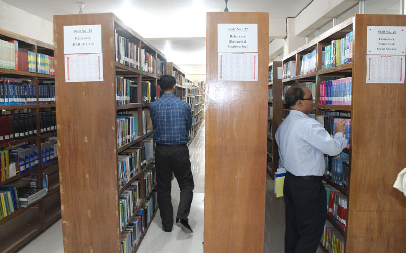 EPR team is visiting library